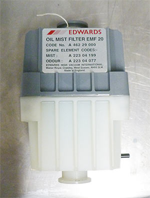Edwards oil mist filter EMF 20