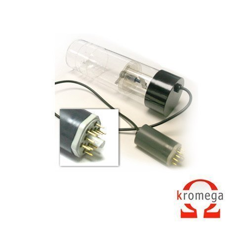 Iron 50mm Perkin Elmer Uncoded 9 pin Hollow Cathode Lamp - Recommended Current:25mA, Max Current: 30mA
