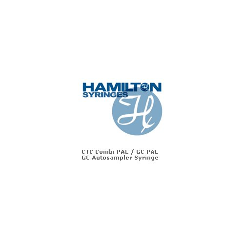 10µL, Model 701, Hamilton Syringe For CTC Combi PAL and GC PAL GC Autosamplers (6.6 mm), Fixed Needle, 26s Gauge, 51 mm, Point style Bevel