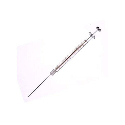 50µL, Model 1705 N, Hamilton Syringe (Cemented Needle), 22s Gauge, Point style Bevel