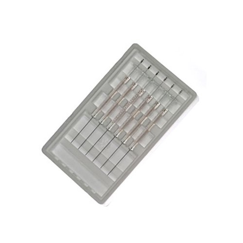 5µL, Model 75 N, Hamilton Syringe for Agilent GC Autosamplers (Cemented Needle) 23s-26s ga, Point style AS. 6 Pack.