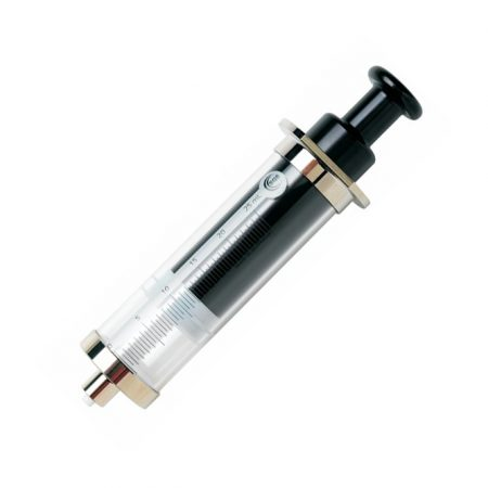 SGE 009463 25mL Gas Tight Syringe Fixed Luer Lock Needle