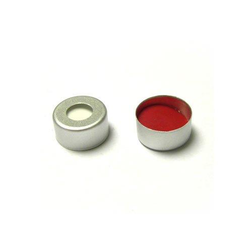 Crimp cap pre-inserted silicon / teflon