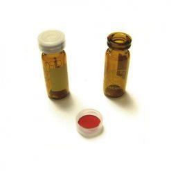 Crimp snap combi-kit amber clear cap