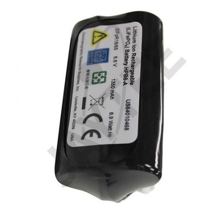 Lithium battery for crimper