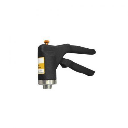 Manual vial crimper