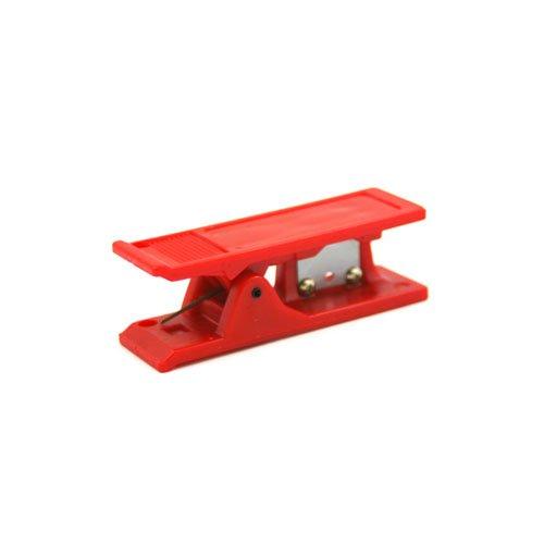 Polymer tubing cutter