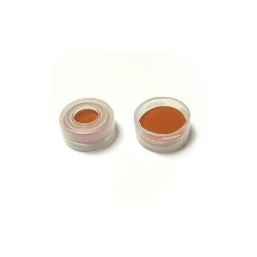 Snap cap butyl teflon septum