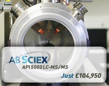 AB Sciex API 5000 LC-MS/MS
