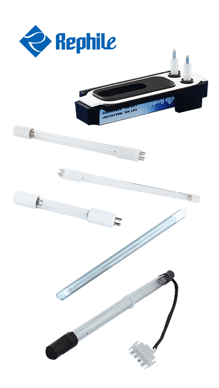 Millipore UV lamps