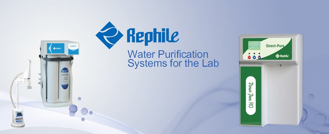 Rephile Water Purification Systems for the Lab