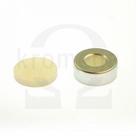 20mm Open Top Aluminium Crimp Cap