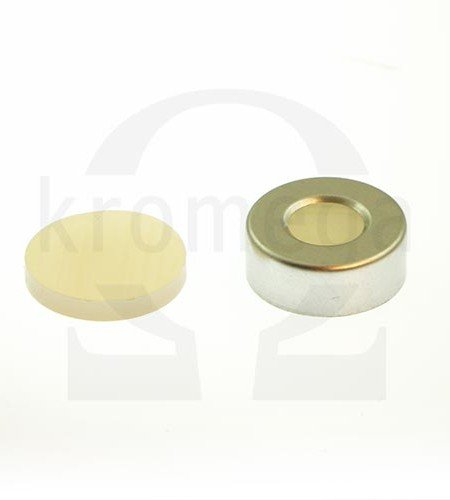 20mm Open Top Aluminium Crimp Cap