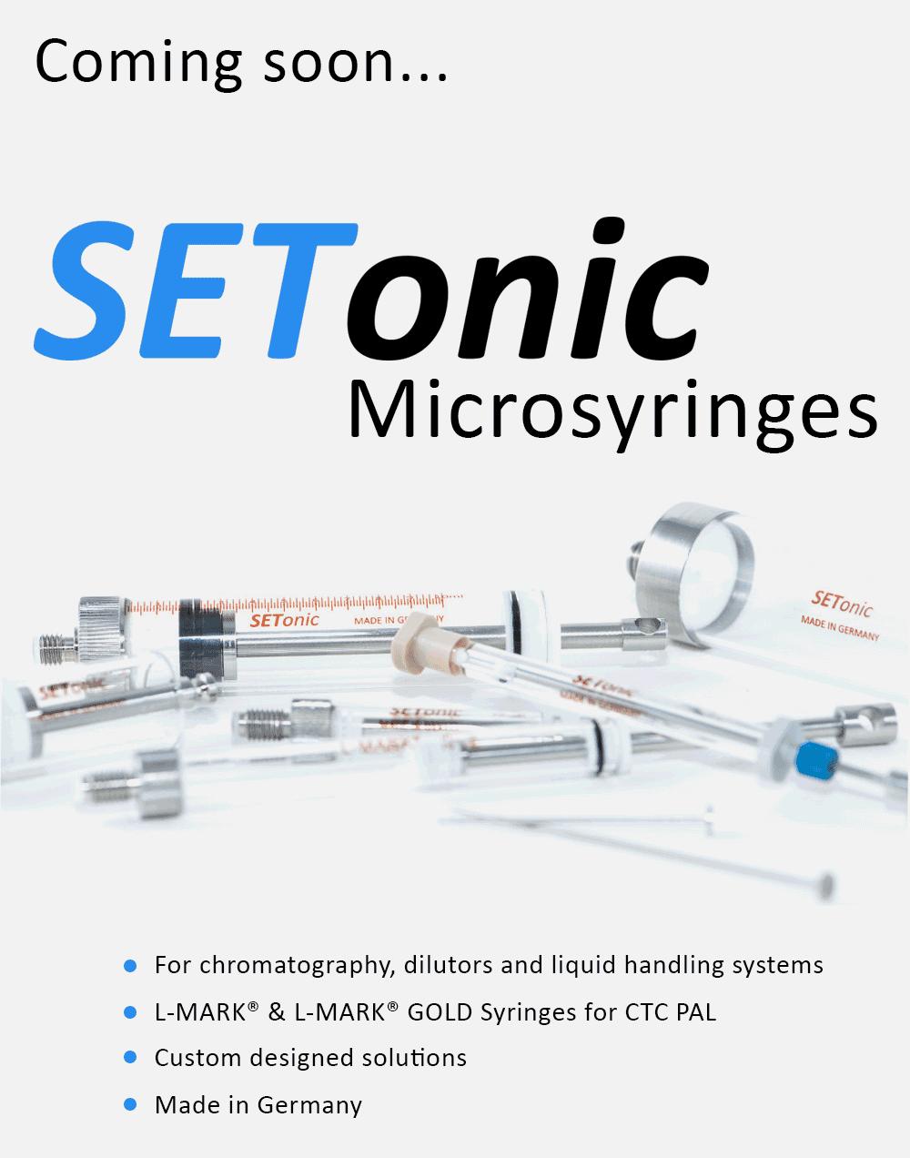 Setonic Microsyringes