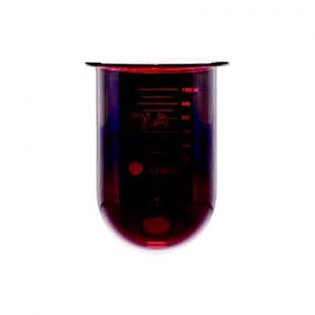 1000mL amber UltraCenter precision glass vessel for TruCenter.