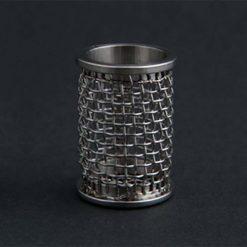 A QLA 10 mesh clip style basket for Agilent / VanKel