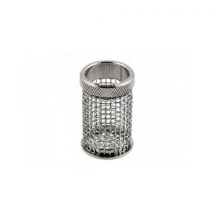 A QLA 10 mesh clip style basket for Caleva, 316 SS, serialized.