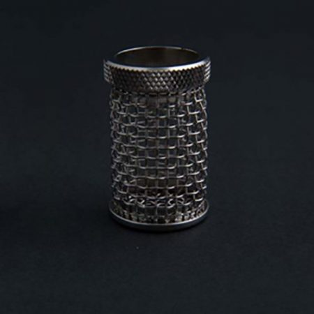 A QLA 10 mesh stainless steel basket Distek compatible