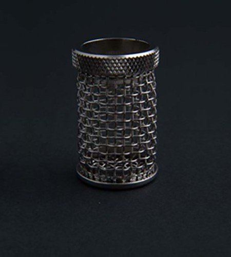 A QLA 10 mesh stainless steel basket Distek compatible