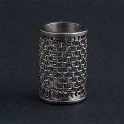 20 mesh stainless steel basket. Agilent / VanKel compatible