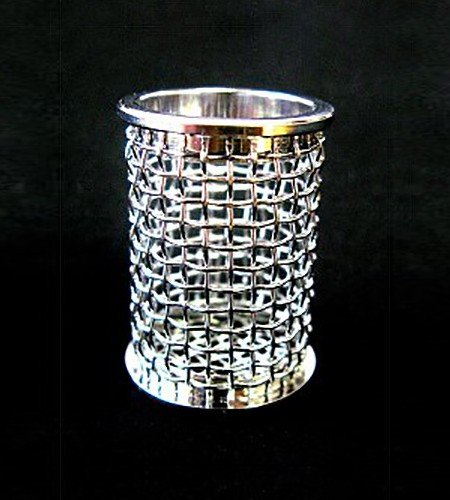 A QLA 20 mesh Evolution style basket for Distek.