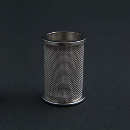 A QLA 40 mesh (USP) precision clip style basket for Hanson