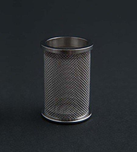 A QLA 40 mesh (USP) clip style basket for Pharmatest