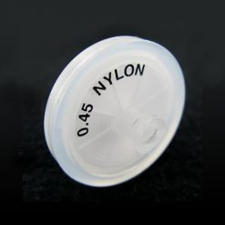 0.45µm nylon syringe filter for dissolution