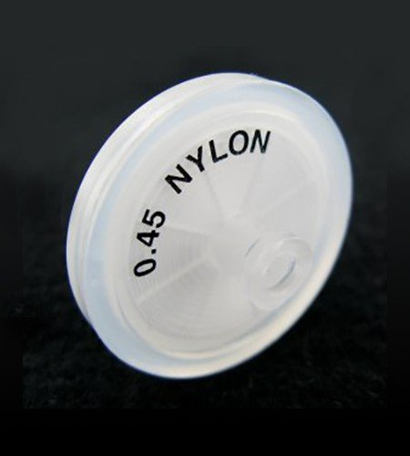 0.45µm nylon syringe filter for dissolution