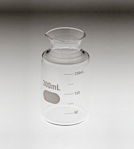 300mL glass dissolution fleaker | Graduated
