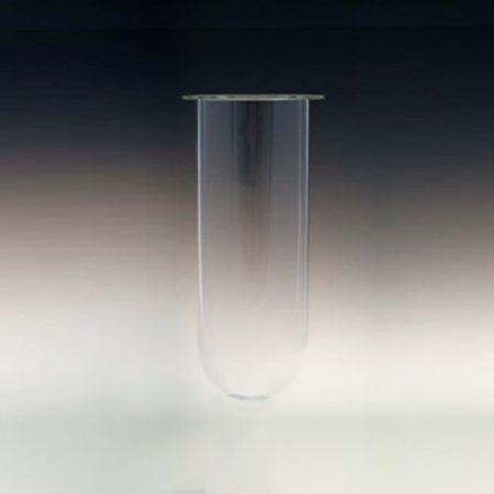2000mL amber glass vessel for Distek dissolution rigs. No ring