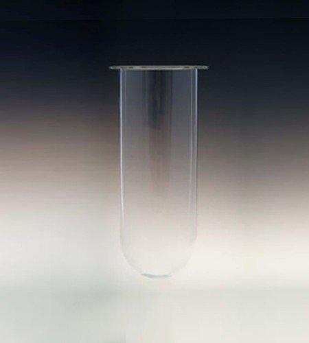 2000mL clear glass vessel. Like Erweka part no.80-000-2002