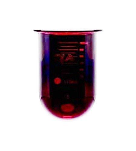1000mL amber glass vessel   Like Caleva 810009