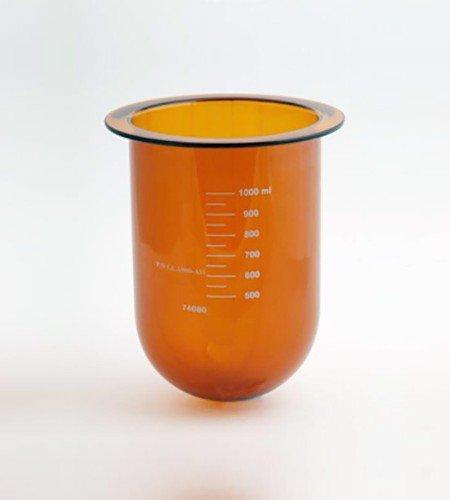 1000mL amber vessel for Hanson SR8-Plus| Like 72-600-556