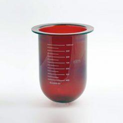 1000mL amber glass vessel | Liket VanKel / Varian 12-5010