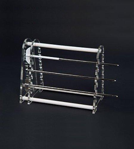 12 position dissolution paddle / basket shaft holder