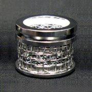10 mesh dissolution sinker basket with lid