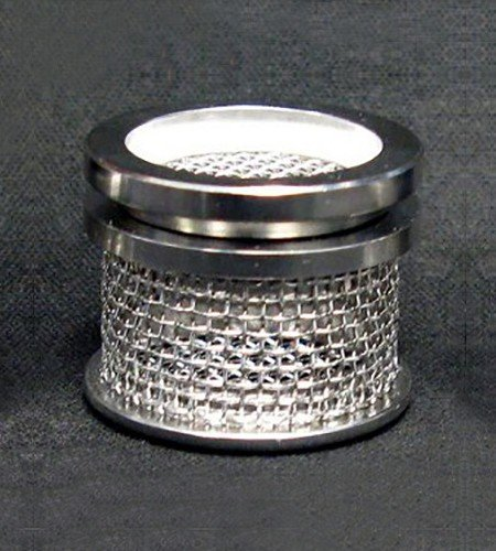 20 mesh dissolution sinker basket with lid