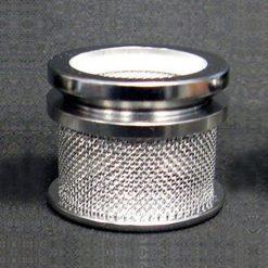 40 mesh dissolution sinker basket with lid