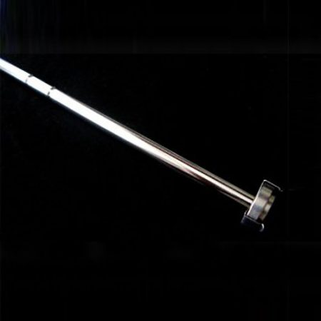 Erweka 15'' (380mm) spring clip style basket shaft