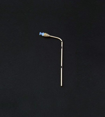 "120mm bent PEEK 1/8"" dissolution cannula with|Hanson baths."