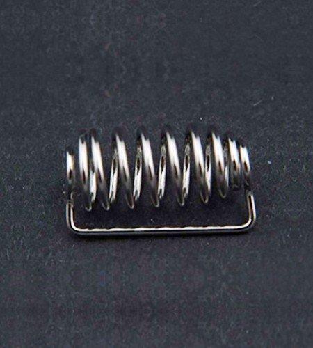 Spiral coated dissolution capsule sinker 21.3mm x 9.4mm