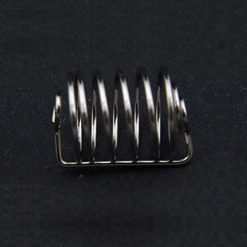 Spiral coated capsule sinker. 316 SS 22.5mm x 14.6mm