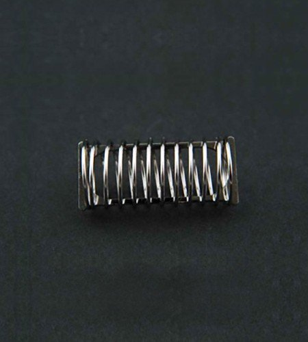 Spring style dissolution capsule sinker for Sotax. 31mm x 11mm