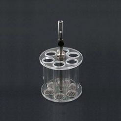 Disintegration basket assembly   6 glass tubes Agilent VanKel
