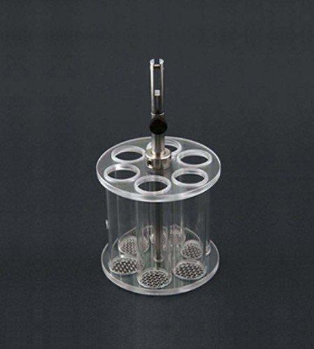 Disintegration basket assembly | 6 plastic tubes |VanKel