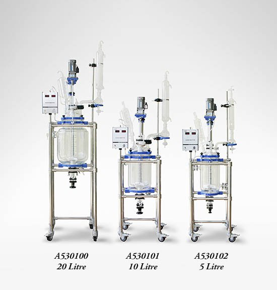 Jacketed Glass Reactors
